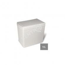 Κάδος απορριμμάτων  -16L   Λευκό