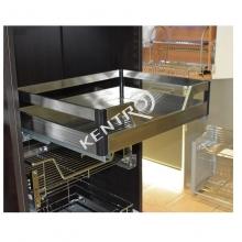 Μηχανισμός συρτάρι σκευοθήκη με φρένο INOX