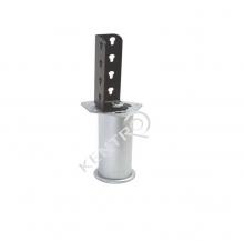 Πόδι επίπλου με γωνία σύνδεσης  Φ 51 mm