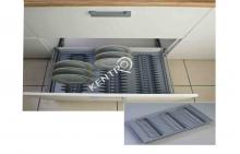 Πιατοθήκη συρταριού -600mm
