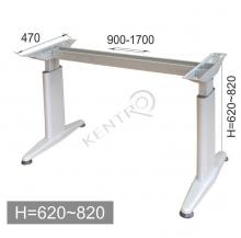 Βάση γραφείου .h=620-820mm,base 650 mm