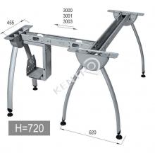 Βάση γραφείου .h=720mm,base 620 mm