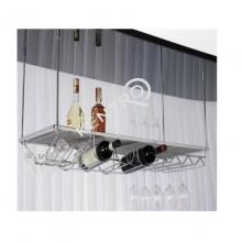 Μπουκαλοθηκη & ποτιροθήκη κρεμαστή οροφής