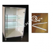 Φωτιστικό κρυστάλλινου ραφιού L=550mm