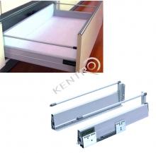 Σύστημα συρταριών με φρένο ( μονή ντίζα )
