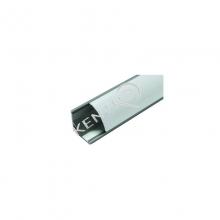Προφίλ εξωτερικό γωνιακό με καμπύλο για LED L=3000mm