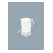 Πόδι επίπλου  40X40mm, h= 100-120mm Λευκό